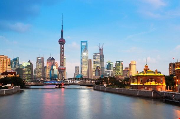 Shanghai View from Suzhou River