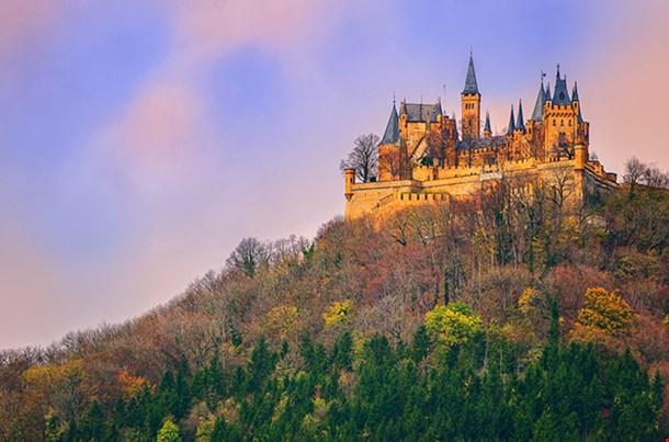Hohenzollern Castle Stuttgart Germany