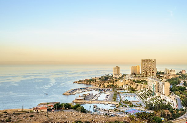 Beirut The Largest City And The Capital Of Lebanon