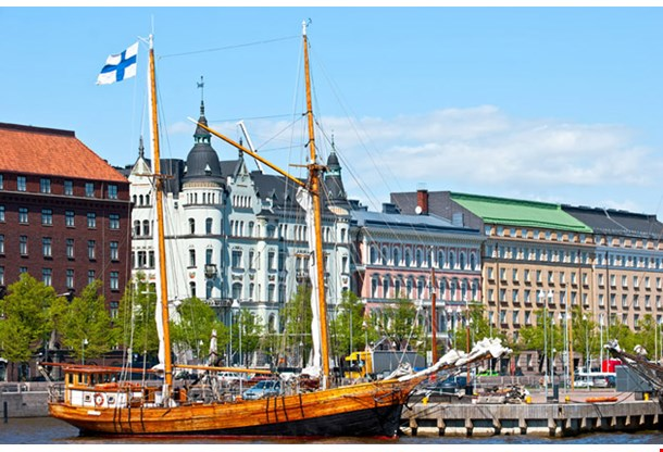 Old Embakment Helsinki