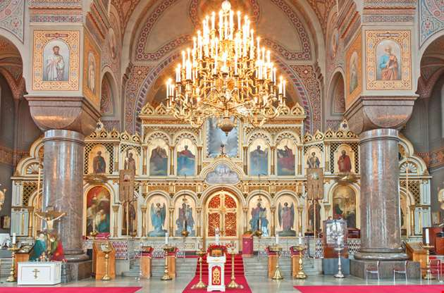 uspenski-cathedral-interior-Uspenski Cathedral Interior