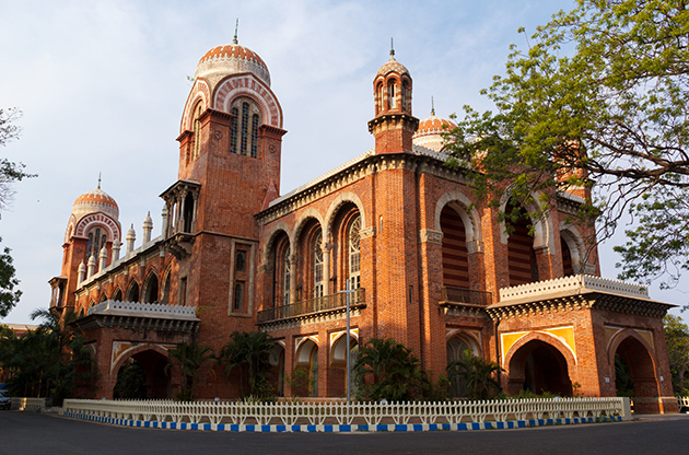 Building University Of Madras In Chennai Tamil Nadu India-Building University Of Madras In Chennai Tamil Nadu India