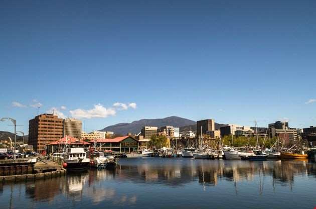 Derwent River Hobart Tasmania-Derwent River Hobart Tasmania