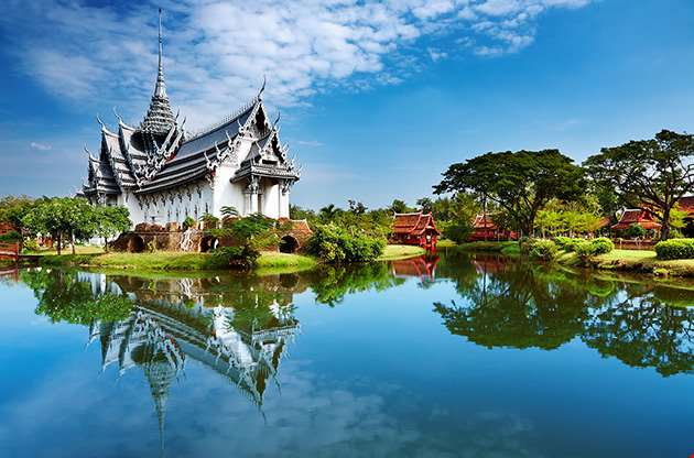 sanphet-prasat-palace-ancient-city-bangkok-Sanphet Prasat Palace Ancient City Bangkok