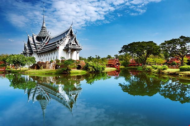 Sanphet Prasat Palace Ancient City Bangkok