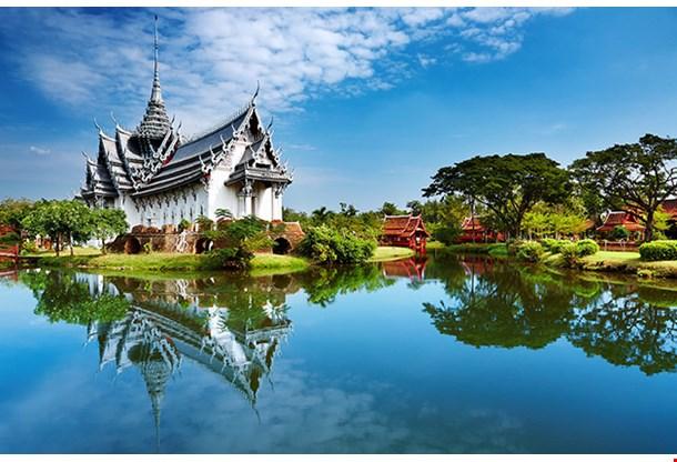 Sanphet Prasat Palace Ancient City Bangkok