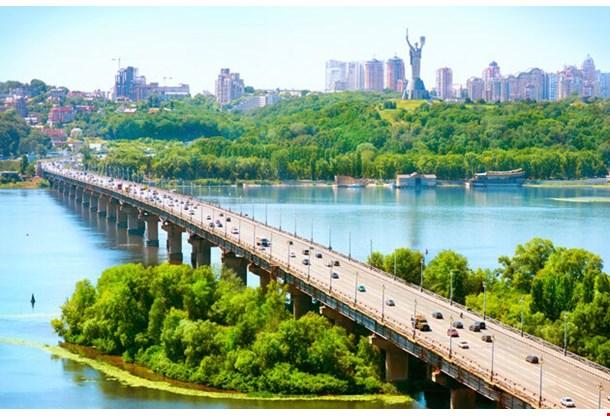 Kiev City The Capital Of Ukraine
