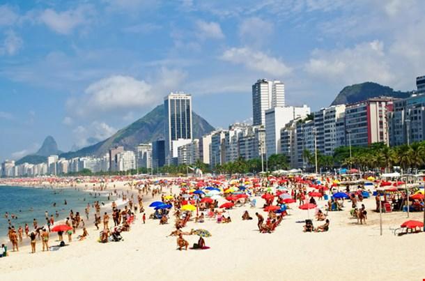 Beach Leme and Copacabana