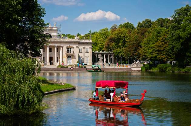 lazienki-royal-baths-park-in-warsaw-poland-Lazienki, Royal Baths Park In Warsaw, Poland