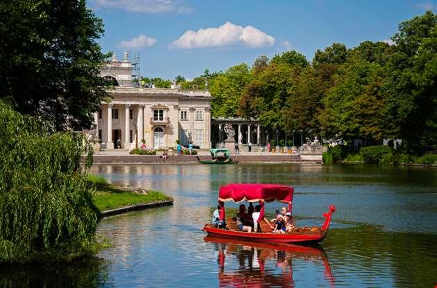 lazienki-royal-baths-park-in-warsaw-poland-Lazienki, Royal Baths Park In Warsaw, Poland