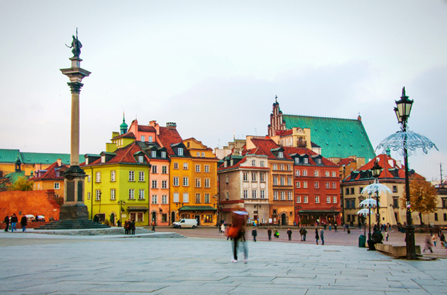 old-town-in-warsaw-Old Town In Warsaw