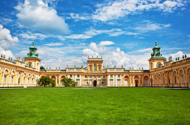 royal-wilanow-palace-in-warsaw-poland-Royal Wilanow Palace In Warsaw Poland
