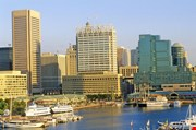 Skyline And Harbor Of Baltimore-Skyline And Harbor Of Baltimore
