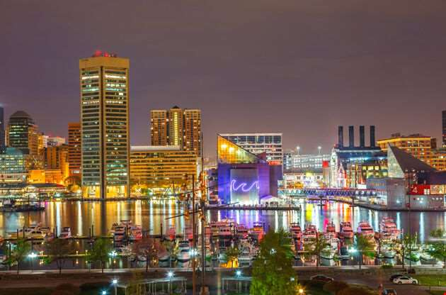 View On Downtown Of Baltimore-View On Downtown Of Baltimore
