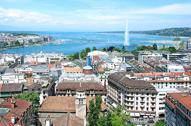 General View Of Geneva