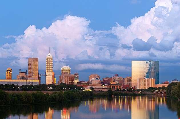 indianapolis-skyline-Indianapolis Skyline