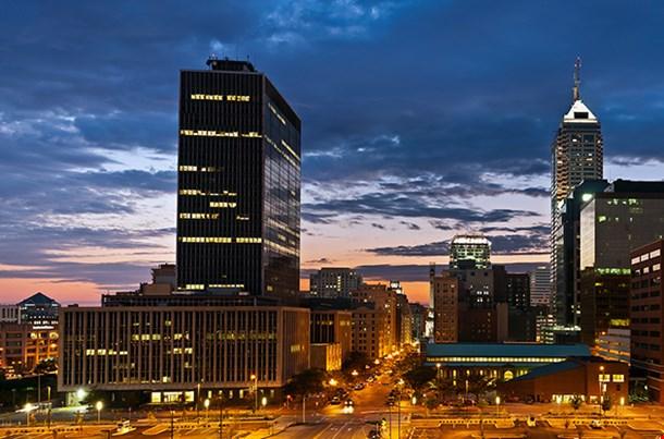 Indianapolis Sunset