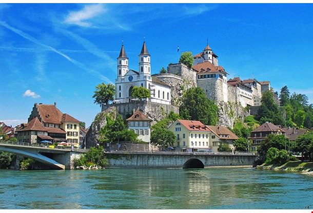 Aarburg Castle Near Zurich