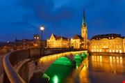 zurich-at-night-Zurich At Night