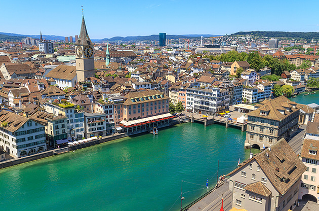 zurich-cityscape-switzerland-Zurich Cityscape Switzerland