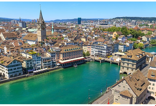 Zurich Cityscape Switzerland