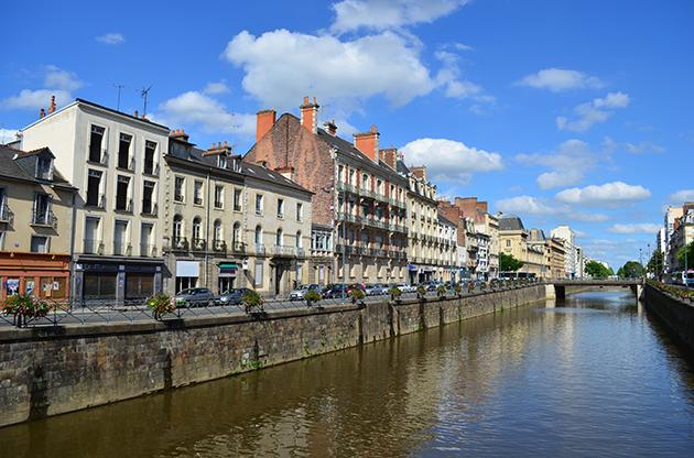 Quai Chateaubriand Rennes France-Quai Chateaubriand Rennes France