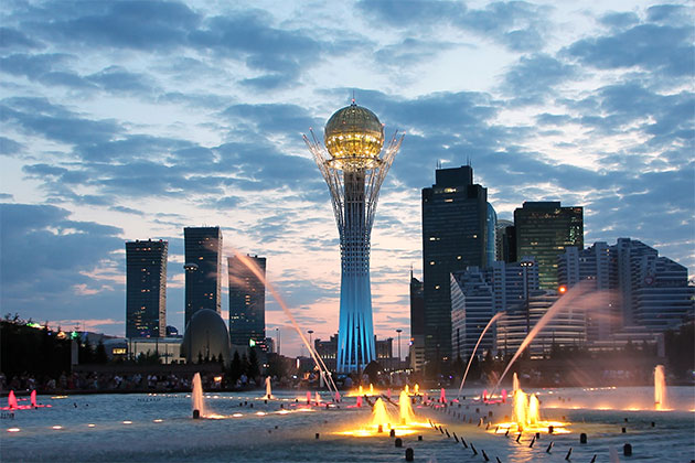 Astana Kazakhstan Sightseeing By Night-Astana Kazakhstan Sightseeing By Night