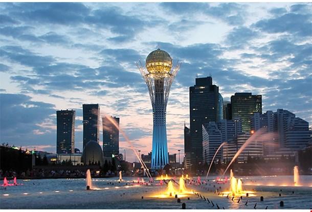 Astana Kazakhstan Sightseeing By Night