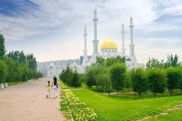 Nur Astana Mosque Astana Kazakhstan-Nur Astana Mosque Astana Kazakhstan