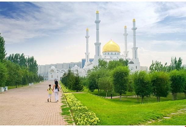 Nur Astana Mosque Astana Kazakhstan