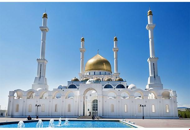Nur Astana Mosque In Astana