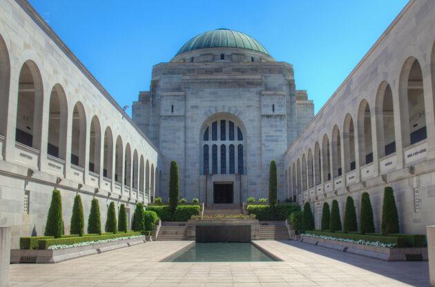 Australian War Memorial In Canberra-Australian War Memorial In Canberra
