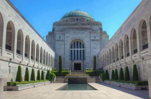 Australian War Memorial In Canberra-Australian War Memorial In Canberra