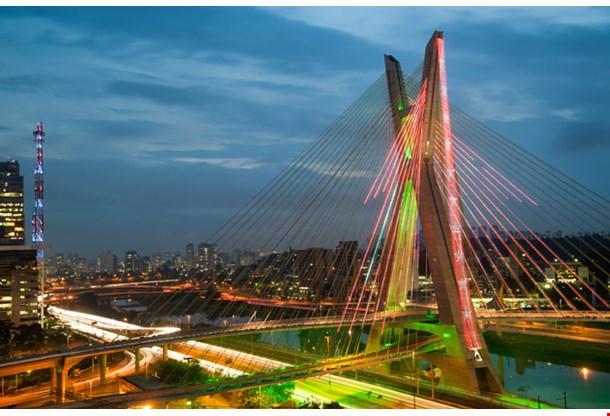 Most Famous Bridge in the Sao Paulo 2
