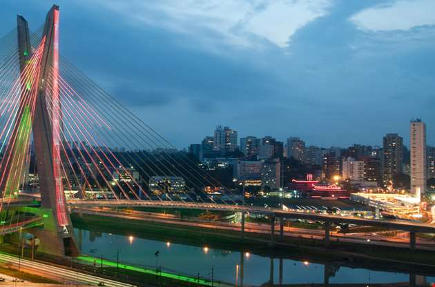 most-famous-bridge-in-the-sao-paulo-Most Famous Bridge in the Sao Paulo