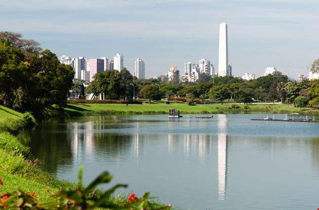 obelist-of-sao-paulo-in-ibirapuera-park-Obelist of Sao Paulo in Ibirapuera Park
