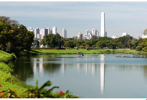 Obelist of Sao Paulo in Ibirapuera Park
