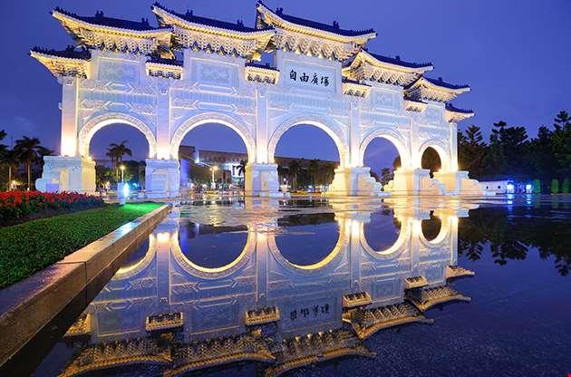 chiang-kai-shek-memorial-hall-in-taipei-Chiang Kai Shek Memorial Hall In Taipei