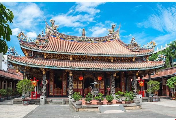 Confucius Temple In Taipei Taiwan
