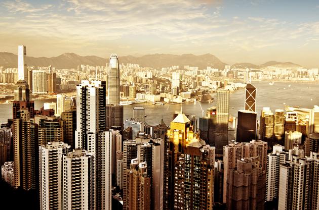 hong-kong-skyline-night-Hong Kong Skyline Night