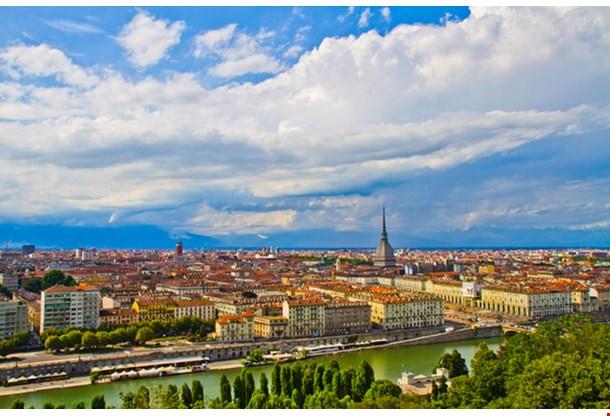 City Of Turin Skyline Panorama