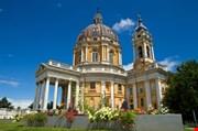 the-baroque-basilica-di-superga-church-on-the-turin-hill-The Baroque Basilica Di Superga Church On The Turin Hill