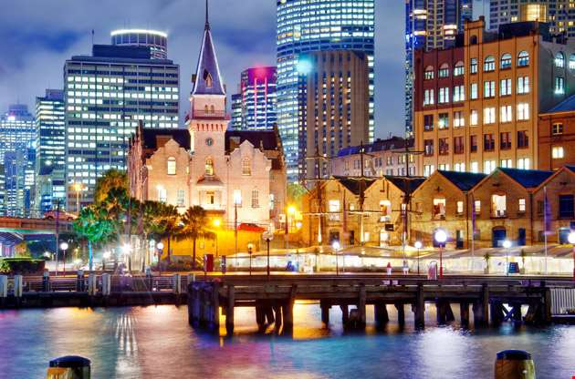 sydney-at-dusk-Sydney At Dusk