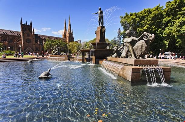 Sydney Landmark Hyde Park