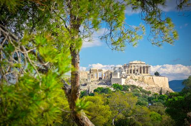 beautiful-view-of-ancient-acropolis-Beautiful View of Ancient Acropolis