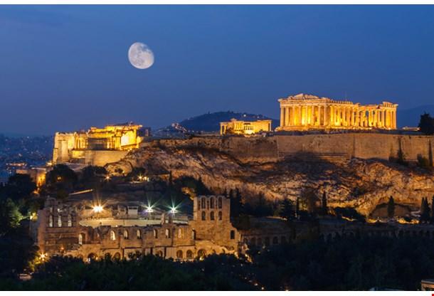Parthenon And Herodium Construction Athens