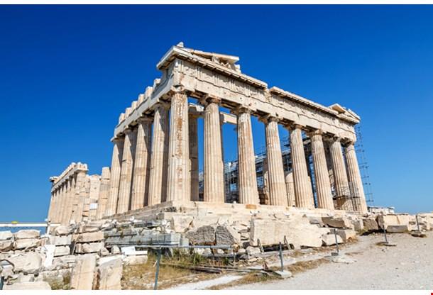 Parthenon in Acropolis Athens