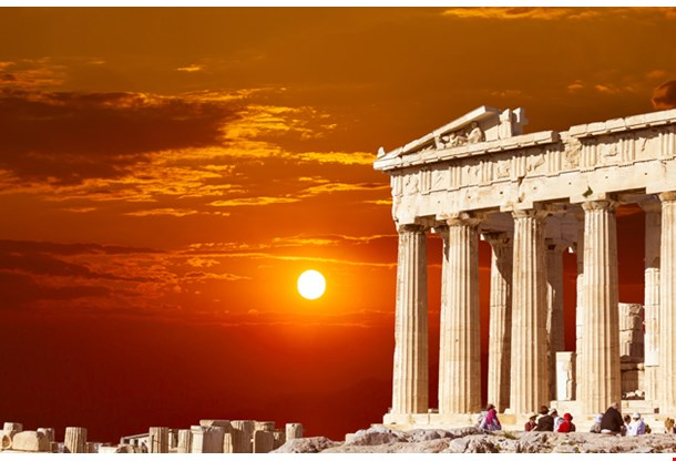 Parthenon Temple on the Athenian Acropolis