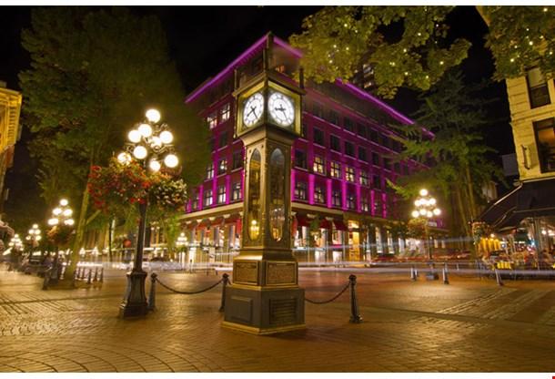 Historic Steam Clock in Gastown