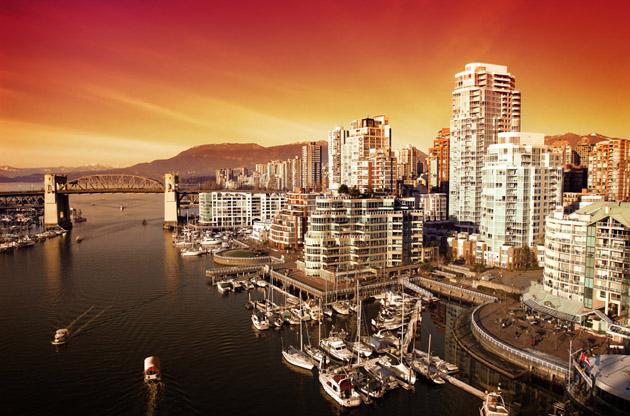 scenic-vancouver-harbour-Scenic Vancouver Harbour